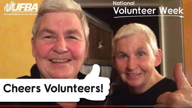 Cheers Volunteers video 2020
