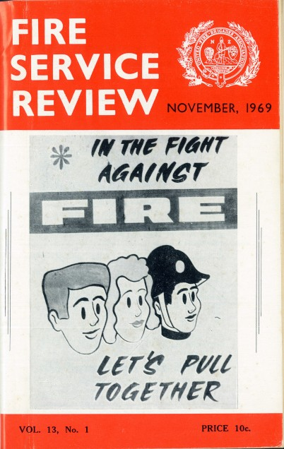 Fire Service Review cover